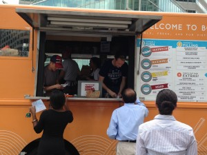 Bon Me food truck at South Station
