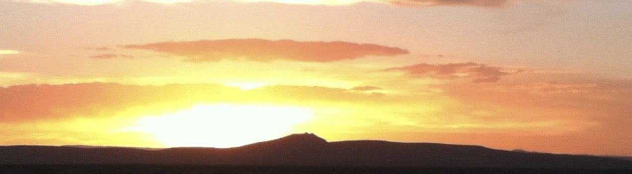 Sunset in Northern New Mexico